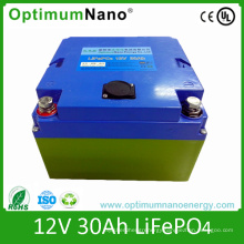 LiFePO4 12V 30ah Lithium Battery for Golf Trolley
